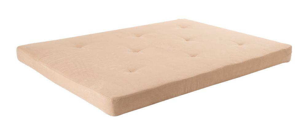 dhp matelas futon 6 couleur tan home depot canada. Black Bedroom Furniture Sets. Home Design Ideas
