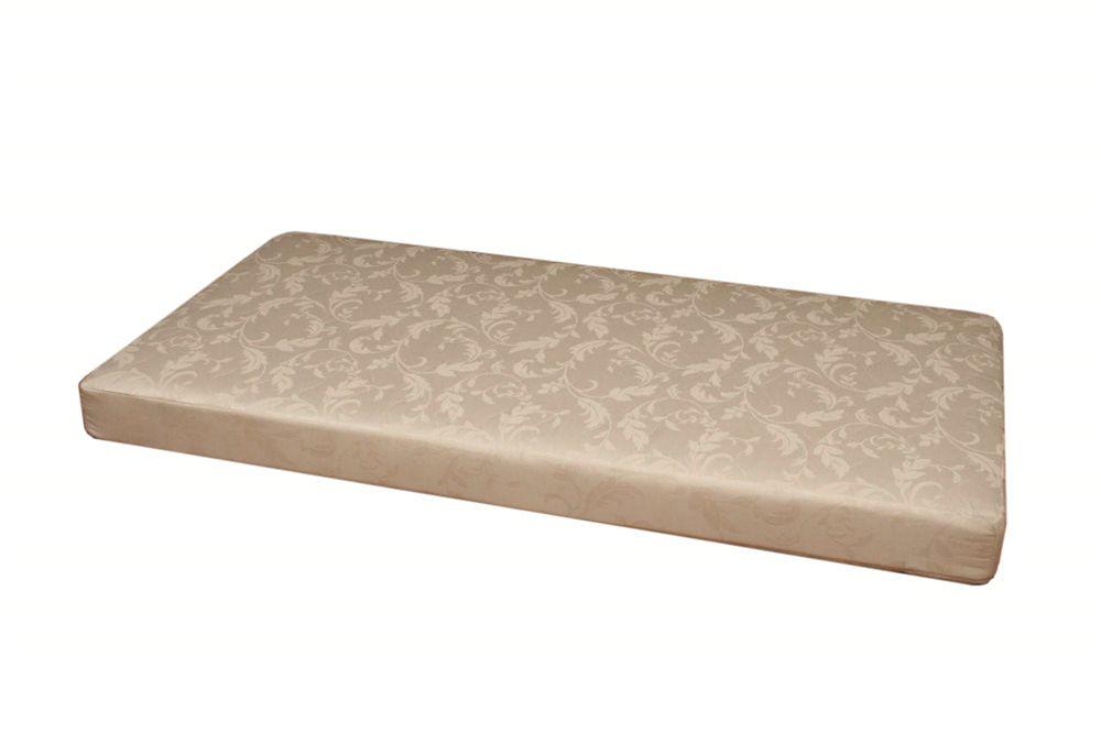 Thermo-Bonded Polyester Core Mattress, Cream