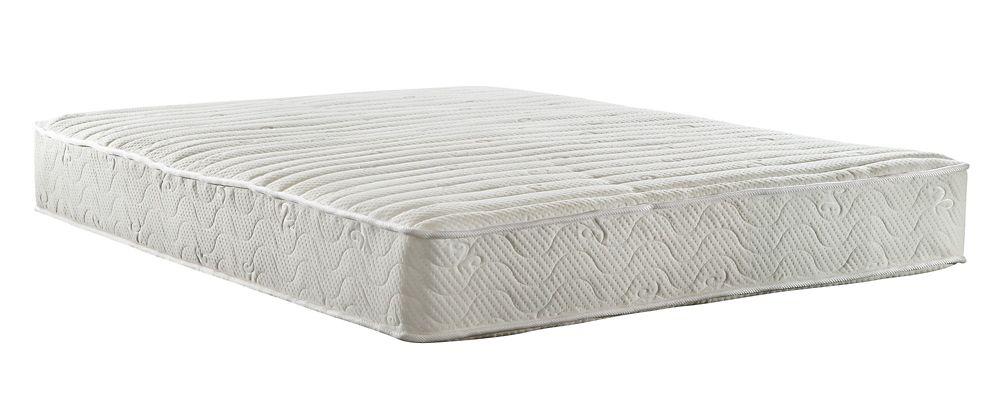 Signature Sleep Contour 8 Inch Coil Mattress, Queen Size, White