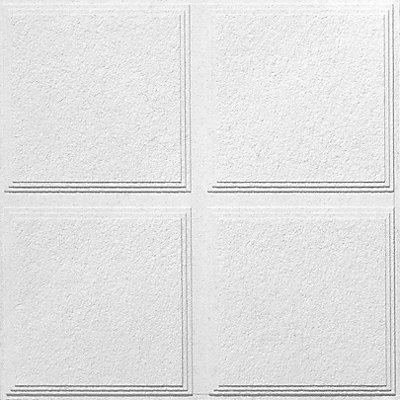 USG Ceilings Luna Pedestal IV R Acoustical Ceiling Tiles - 12 inch ceiling tiles home depot