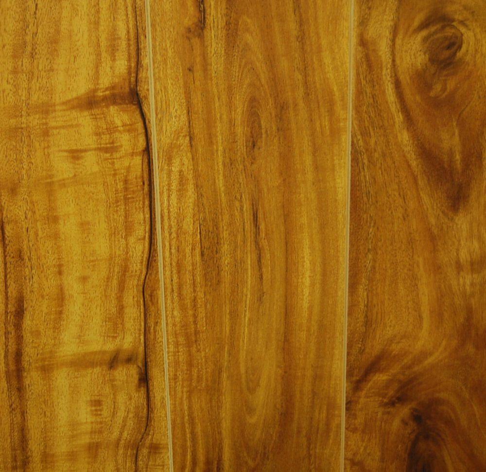 Laminate 12mm x 6-1/2 Handscraped - Colour Harvest Walnut