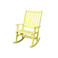 Bali Hai Outdoor Rocking Chair Lemonade Finish