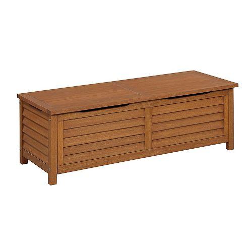 Montego Bay Shorea 1.4 cu. ft. Wood Deck Box