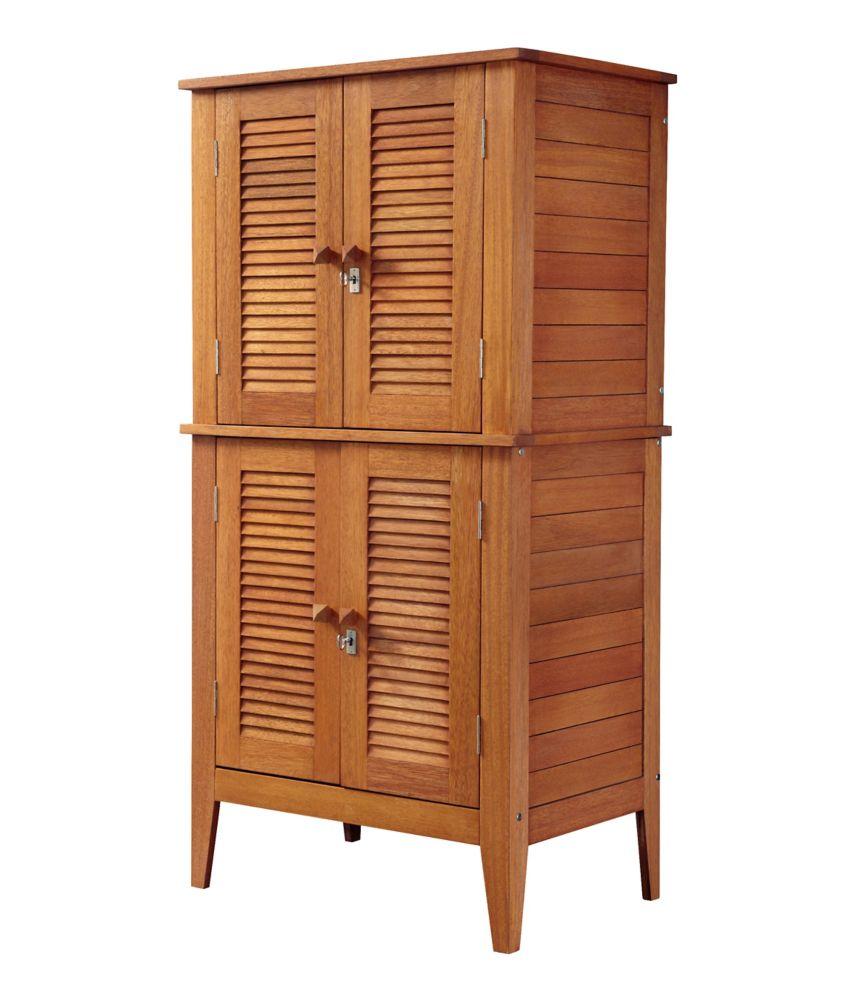 Cabinet de rangement pratique à quatre portes