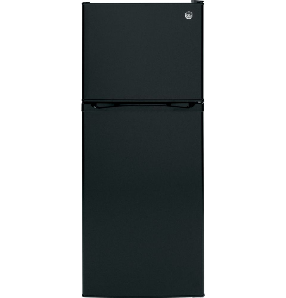 11.55 cu. ft. Top Freezer No-Frost Refrigerator in Black