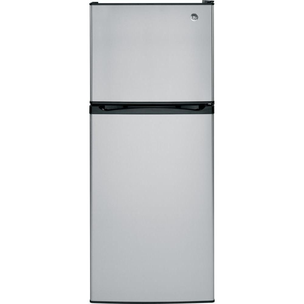 11.55 cu. ft. Top Freezer No-Frost Refrigerator in Stainless Steel
