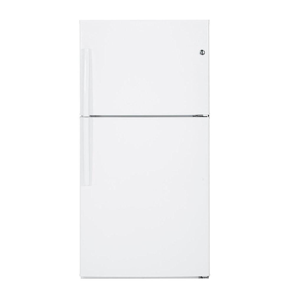 33-inch W 21.2 cu. ft. Top Freezer Refrigerator in White - ENERGY STAR®