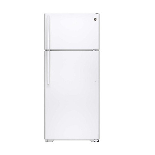 28-inch W 17.5 cu. ft. Top Freezer Refrigerator in White, ENERGY STAR