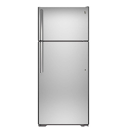 28-inch W 17.5 cu. ft. Top Freezer Refrigerator in Stainless Steel - ENERGY STAR®