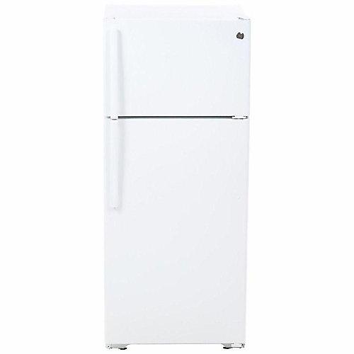 28-inch W 17.5 cu. ft. Top Freezer Refrigerator in White