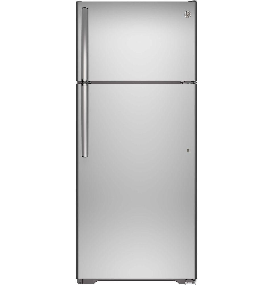 general electric 17 5 cu ft frost free top freezer. Black Bedroom Furniture Sets. Home Design Ideas