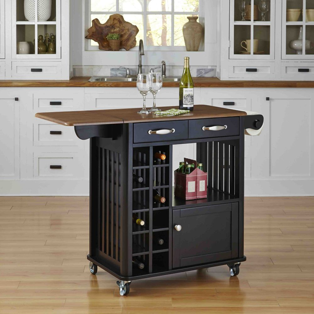 home styles desserte de cuisine danville finition noire home depot canada. Black Bedroom Furniture Sets. Home Design Ideas