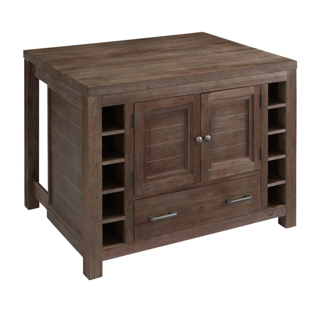Barnside Kitchen Island 5516-94 Canada Discount