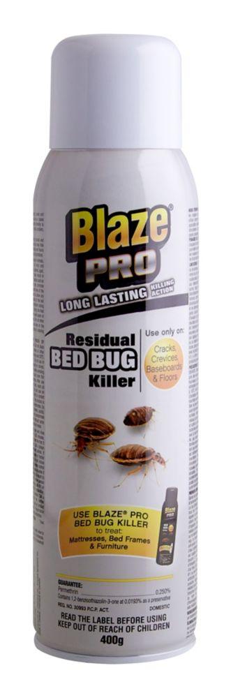 Blaze Pro Insecticide Résiduel Pour Les Punaises De Lit
