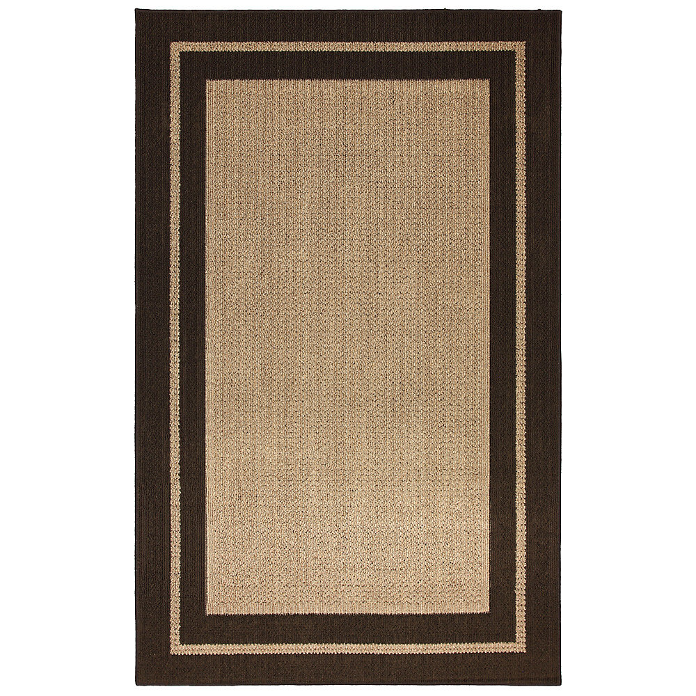Carpette, 8 pi x 10 pi, rectangulaire, brun Marlow