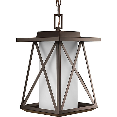 Scope Collection 1-Light Antique Bronze Hanging Lantern