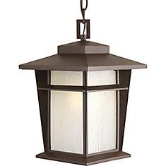 Loyal Collection 1-Light Antique Bronze Hanging Lantern