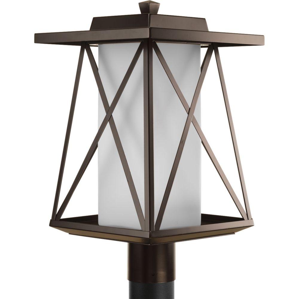 Scope Collection 1-Light Antique Bronze Post Lantern