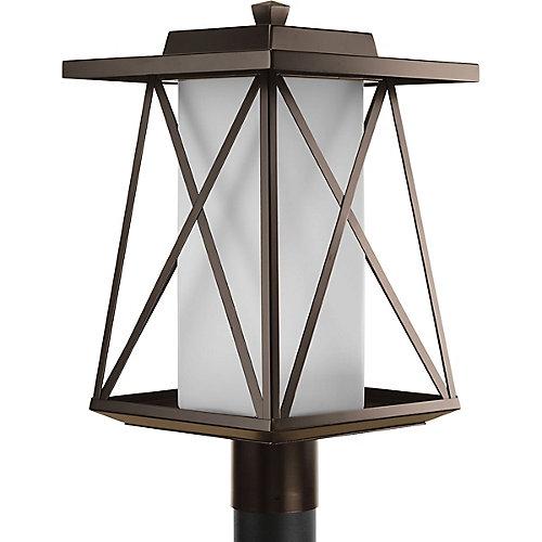 Lampadaire à 1 Lumière, Collection Scope - fini Bronze à l'Ancienne