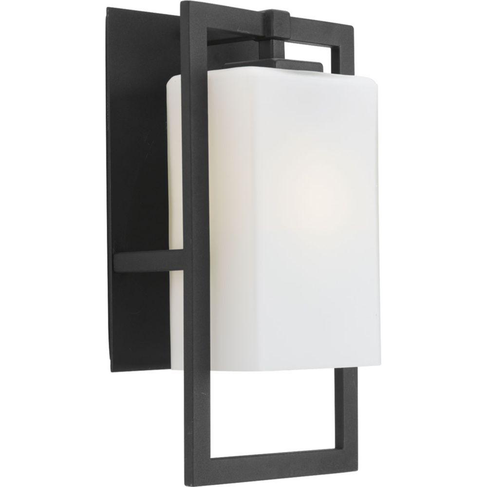 Jack Collection 1-Light Black Wall Lantern