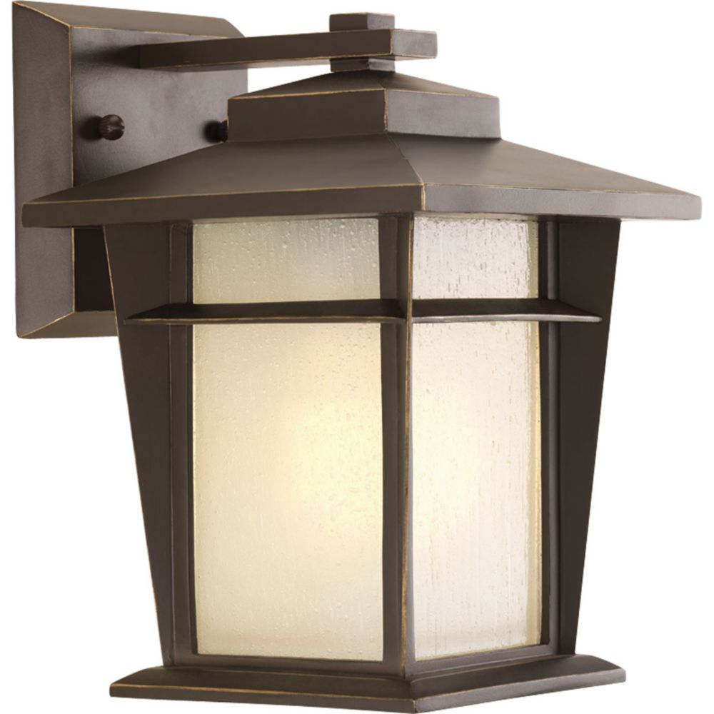 Loyal Collection 1-Light Antique Bronze Wall Lantern