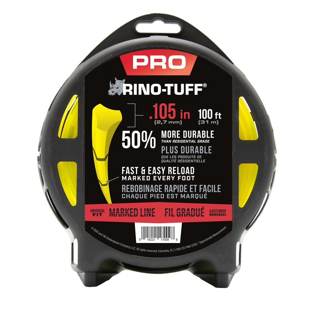 Universal .105-in x 100-ft Heavy Duty Trimmer Line