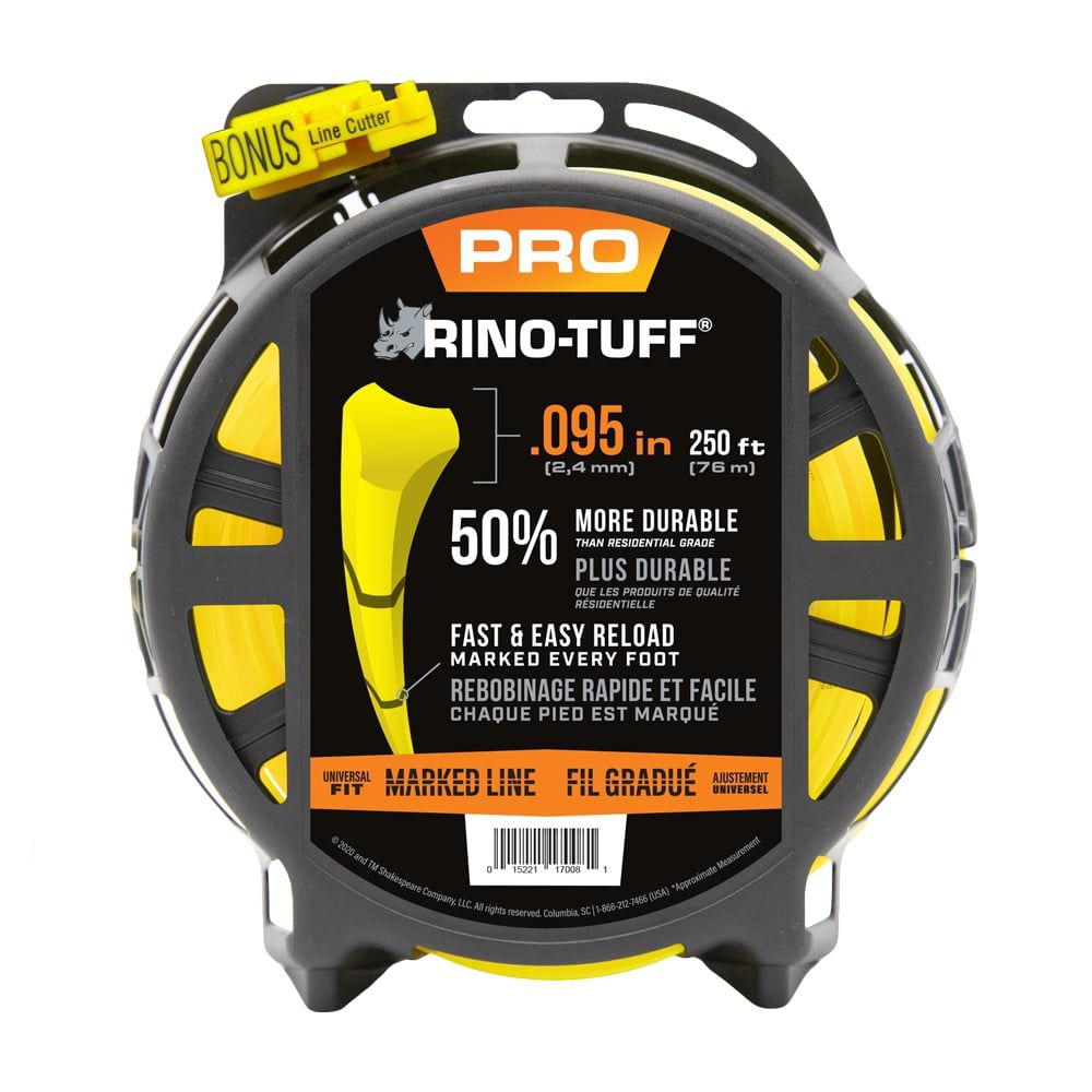 Universal .095-in x 250-ft Heavy Duty Trimmer Line