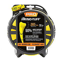 Rino-Tuff Universal .095-inch x 250 ft. Heavy Duty Trimmer Line
