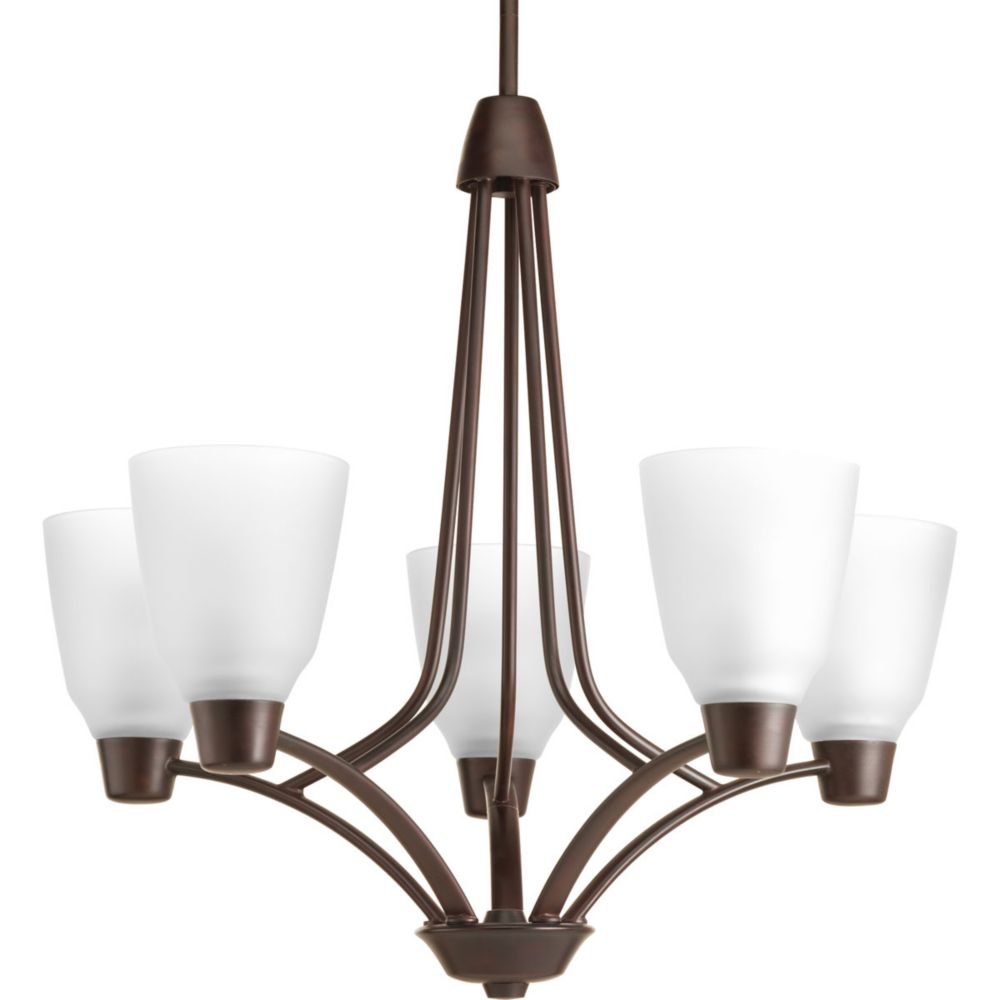 Asset Collection 5-light Antique Bronze Chandelier