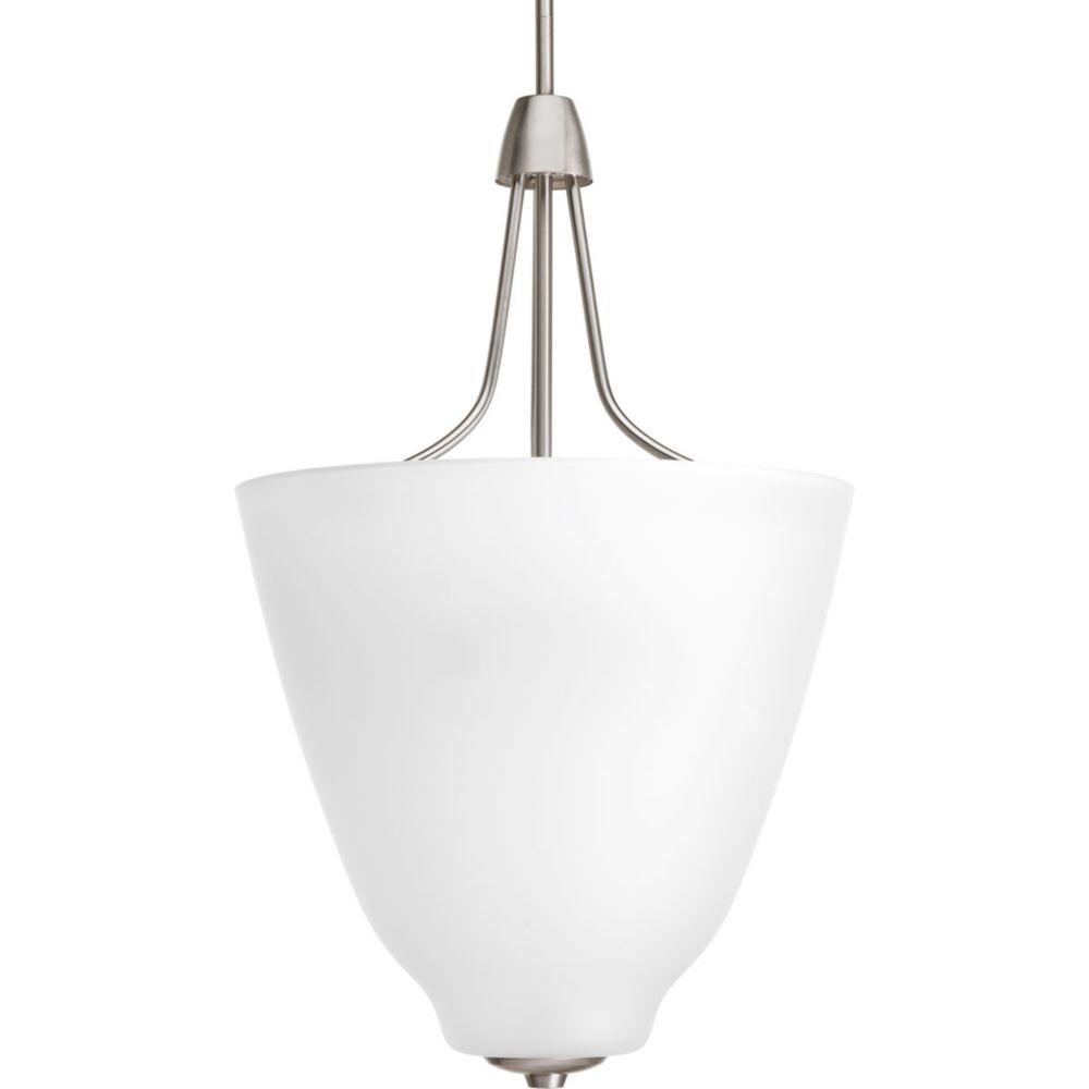 Asset Collection 3-light Brushed Nickel Foyer Pendant