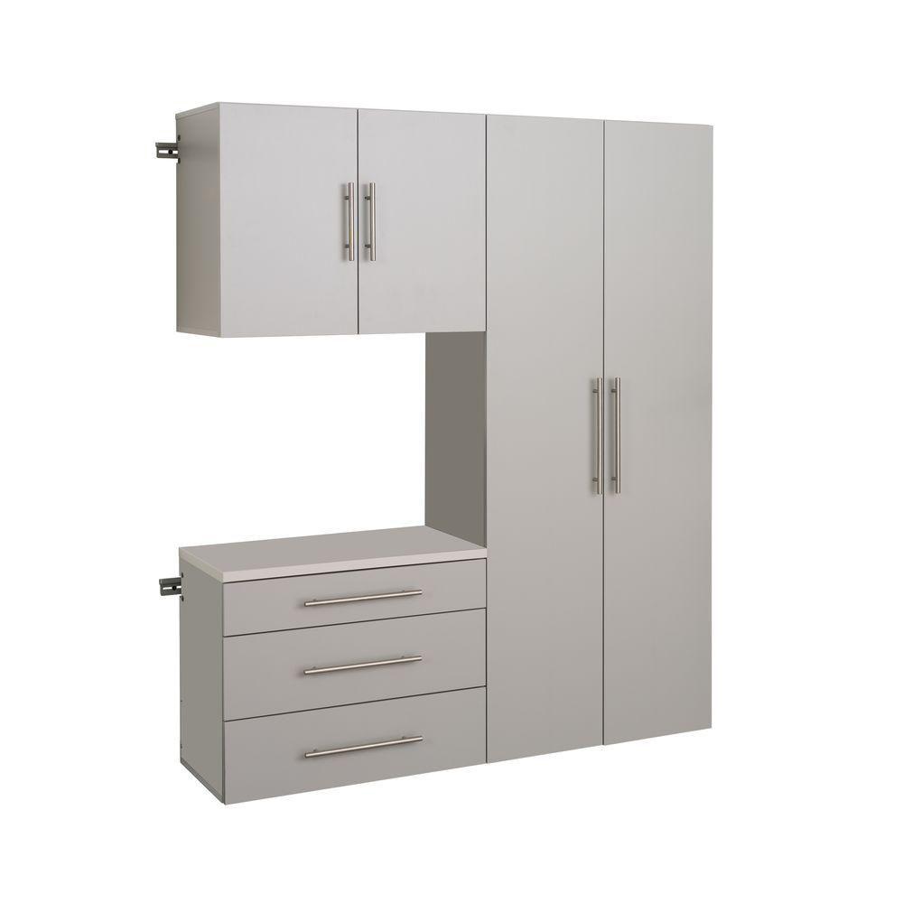 HangUps 60 Inch Storage Cabinet Set B - 3pc
