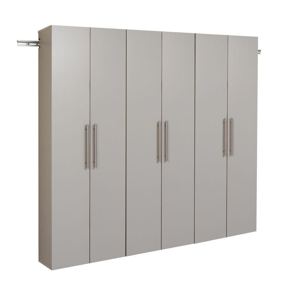 HangUps 72 Inch Storage Cabinet Set C - 3pc