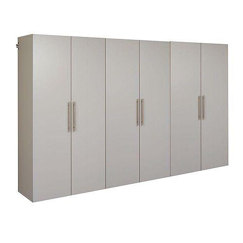 Prepac HangUps 108-inch 3-Piece Storage Cabinet Set E