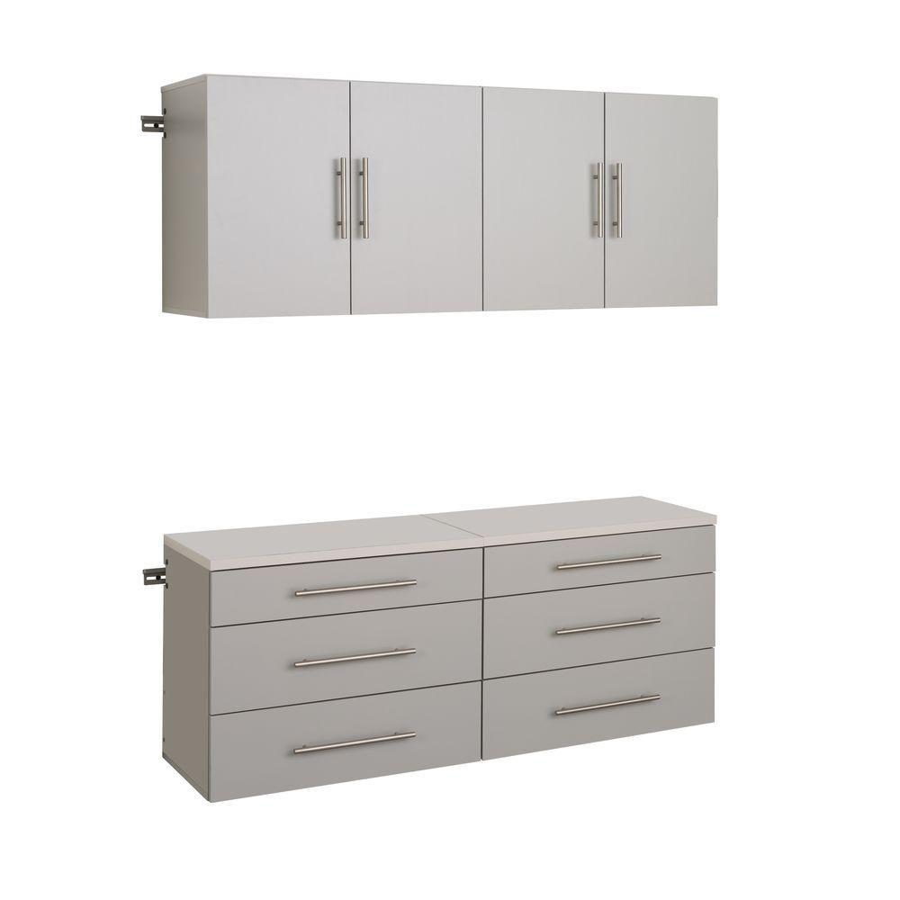 HangUps 60 Inch Storage Cabinet Set F - 4pc