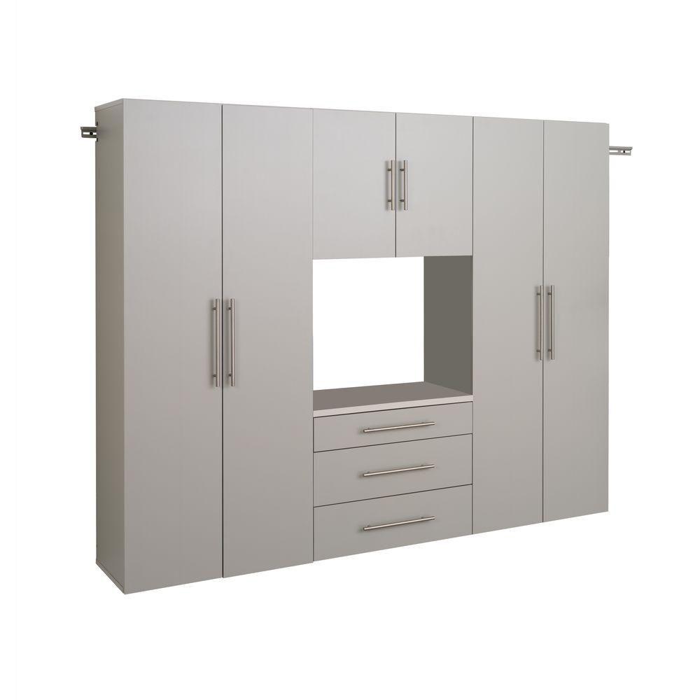 HangUps 90 Inch Storage Cabinet Set G - 4pc