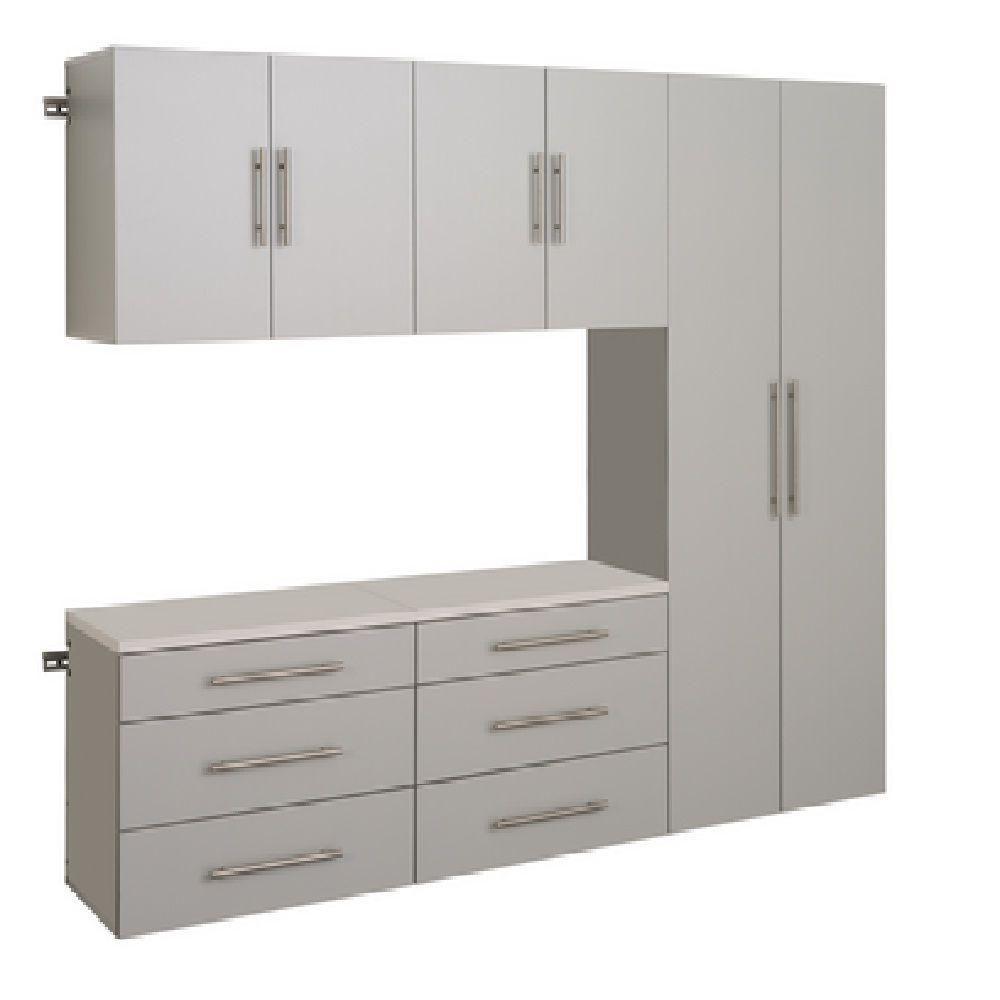HangUps 90 Inch Storage Cabinet Set H - 5pc