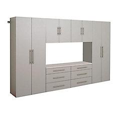 Hangups 120 Inch Storage Cabinet Set I 6pc
