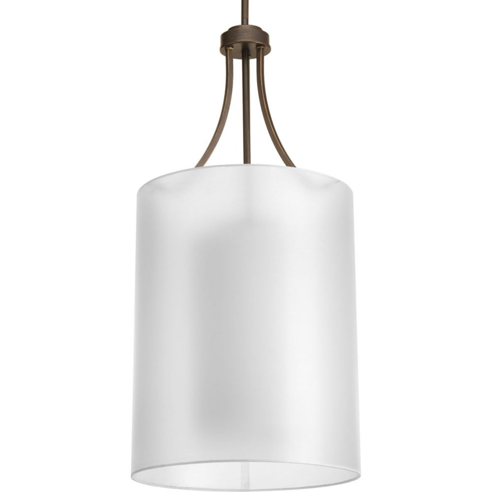 Home Depot Canada Foyer Lighting : Sea gull lighting light brushed nickel foyer pendant