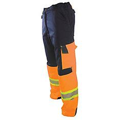 Pantalon Protector sans plis, rencontre CSA Z96-09, pour hommes - Orange - 30X30