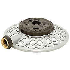 Decorative Metal 8-Pattern Turret Sprinkler