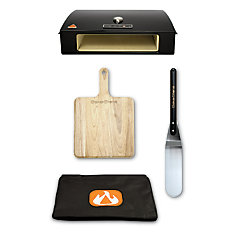 Pizza Oven Kit with Peel and Spatula