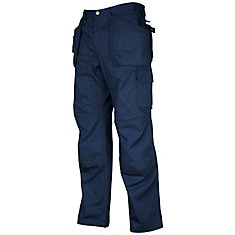 Pantalon de travail multi poches de type cargo pour hommes - 42X34