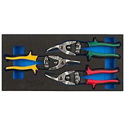 Seattle Tool Aviation Snip Set - (3-Piece)