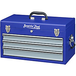 Seattle Tool 20-inch Tool Chest with Three Drawers