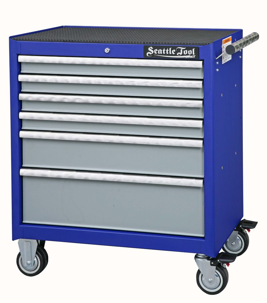 34 Inch Elite Series Tool Cabinet - 6 Drawers