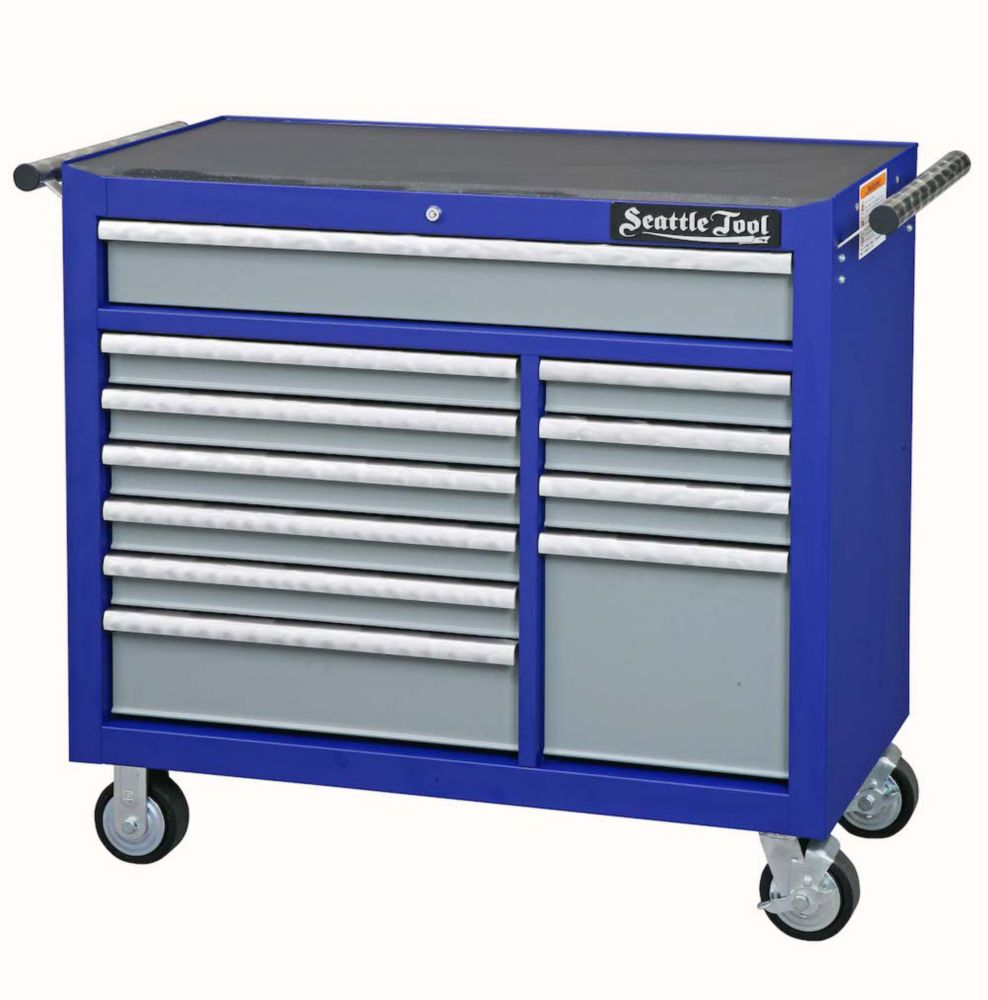 42 Inch Elite Series Tool Cabinet - 11 Drawers