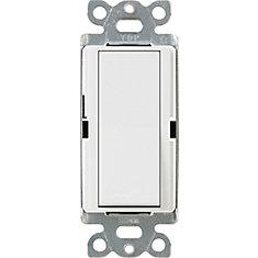 Interrupteur Claro 15 Amp 3-Voies, Blanc