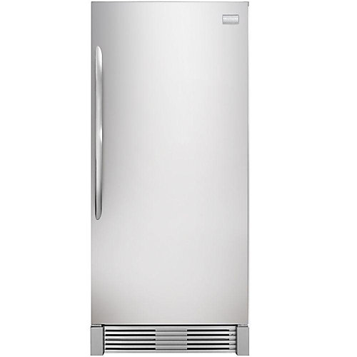 32-inch W 18.6 cu. ft. Freezerless Refrigerator in Stainless Steel