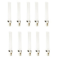CFL 9W PLS Warm White 2 Pin - Case of 10 Bulbs