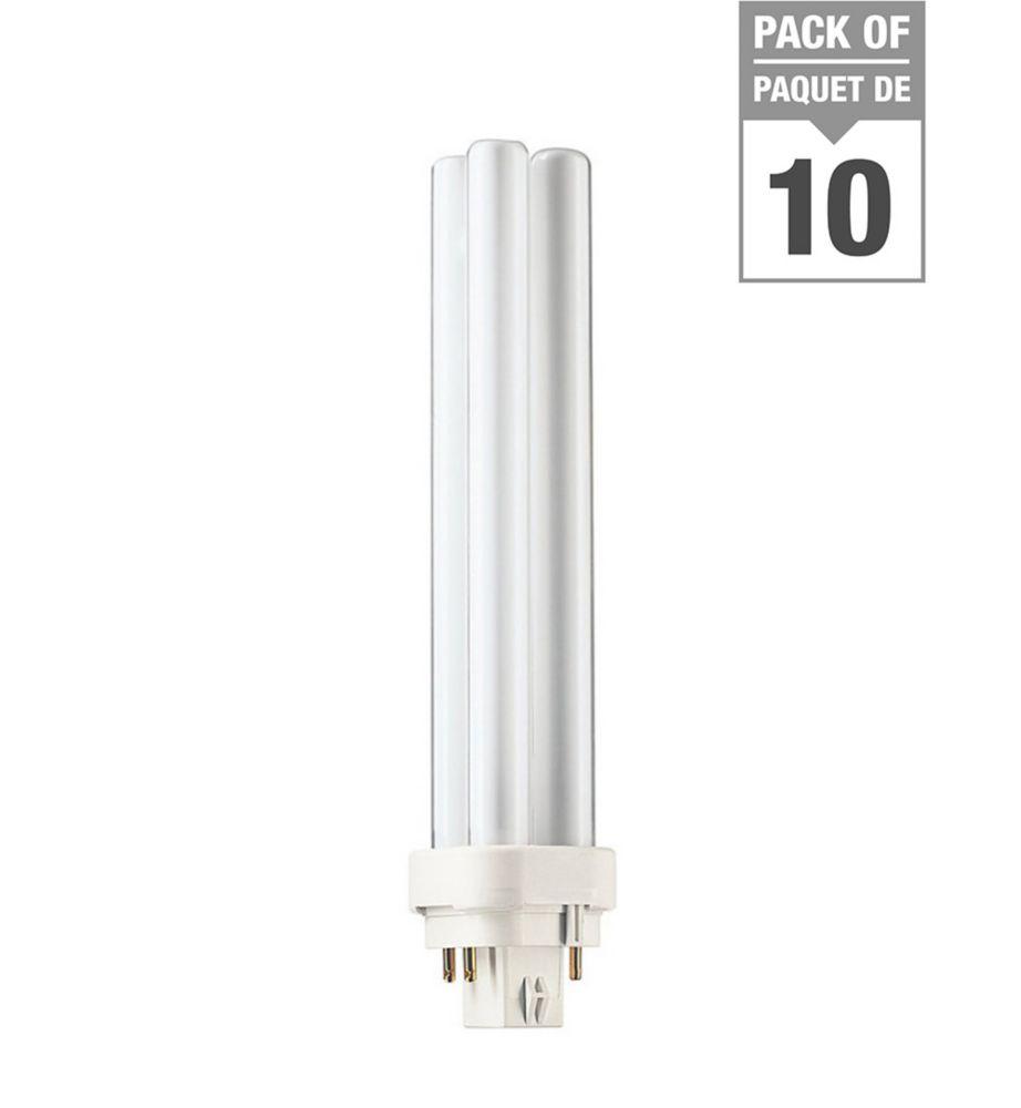 CFL 26W PLC Neutral 4 Pin - Case of 10 Bulbs